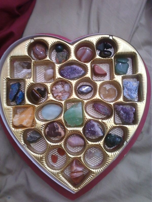 Forget the chocolates, I'll take a box full of gems