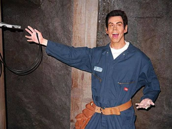 Jim Carrey  The 18 Most Bizarre And Scary Celebrity Waxworks You'll Ever See • Page 3 of 5 • BoredBug