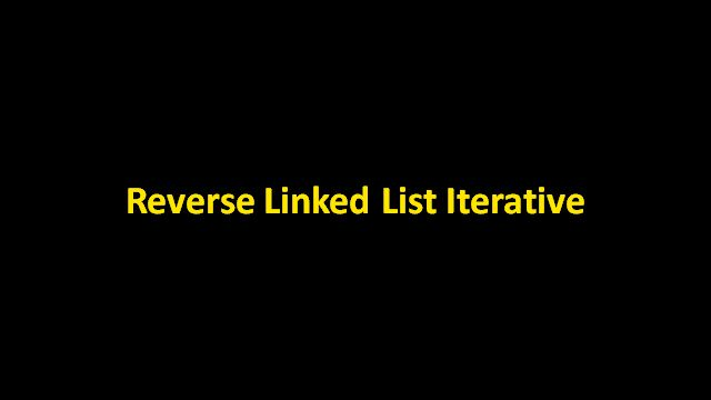 Given a linked list having n nodes. Reverse the list using iterative method. Here is a video solution that reverses a linked list iteratively using 3 pointers. Explained the algorithm with the help of examples and animations.Java code is provided in Code Snippet Section.