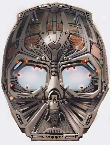 The inside of Vader's mask by Ryan Church