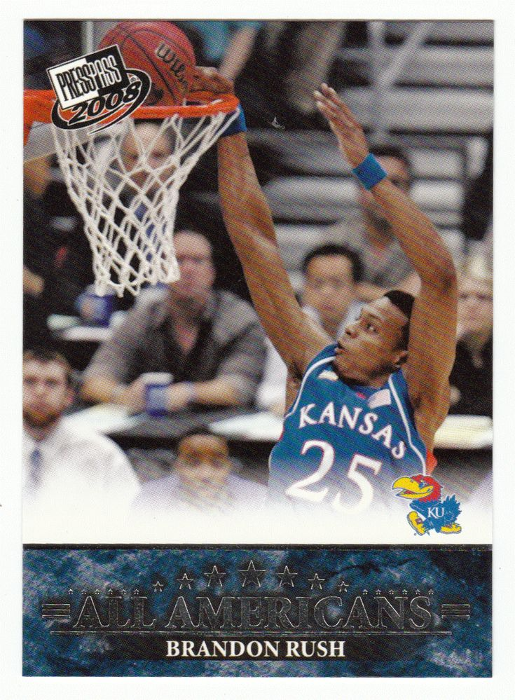 Brandon Rush # 46 - 2008 Press Pass Basketball