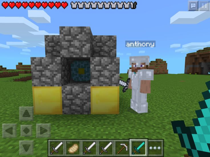 How Do You Build A Nether Portal In Minecraft Pe
