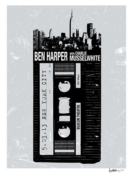 Ben Harper & Charlie Musselwhite by Alex Lodermeier