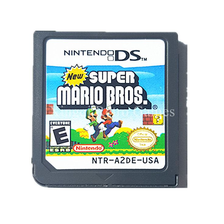 Nintendo NDS Super Mario Bros Video Game Cartridge US English Version