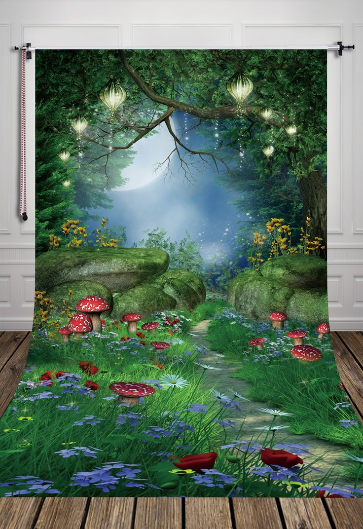 >> Click to Buy << 5X10ft HUAYI Backdrop Fantasy illusion fields newborn Art Fabric background D7918 #Affiliate