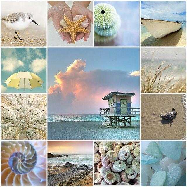 Seaside Mosaic by nikkid12268, via Flickr