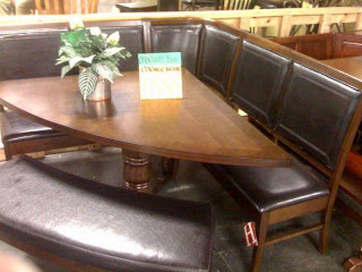 25 best ideas about corner kitchen tables on pinterest - Corner kitchen nook table ...