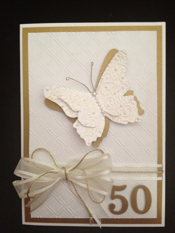 50th Anniversary card