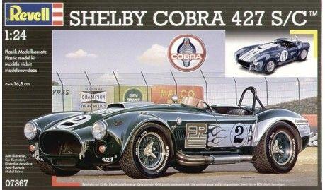 Revell - 7367 - Maquette de voitures / Cars model kits - Shelby Cobra 427SC - 1/24