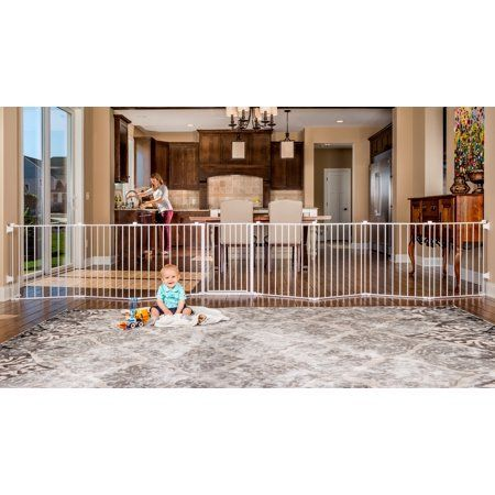 Regalo 192 Inch Super Wide Adjustable Baby Gate And Play