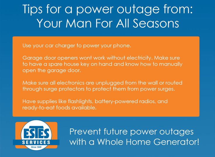 Avoid power outages, install a Whole Home Generator! Call today to discuss options! (404) 361-6560 #atlweather #springshowers #safethansorry