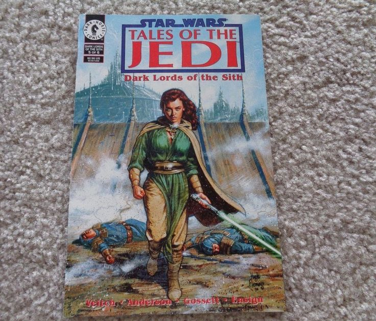 Dark Horse Star Wars Tales of the Jedi Dark Lords of the Sith 5 of 6 Feb 1995