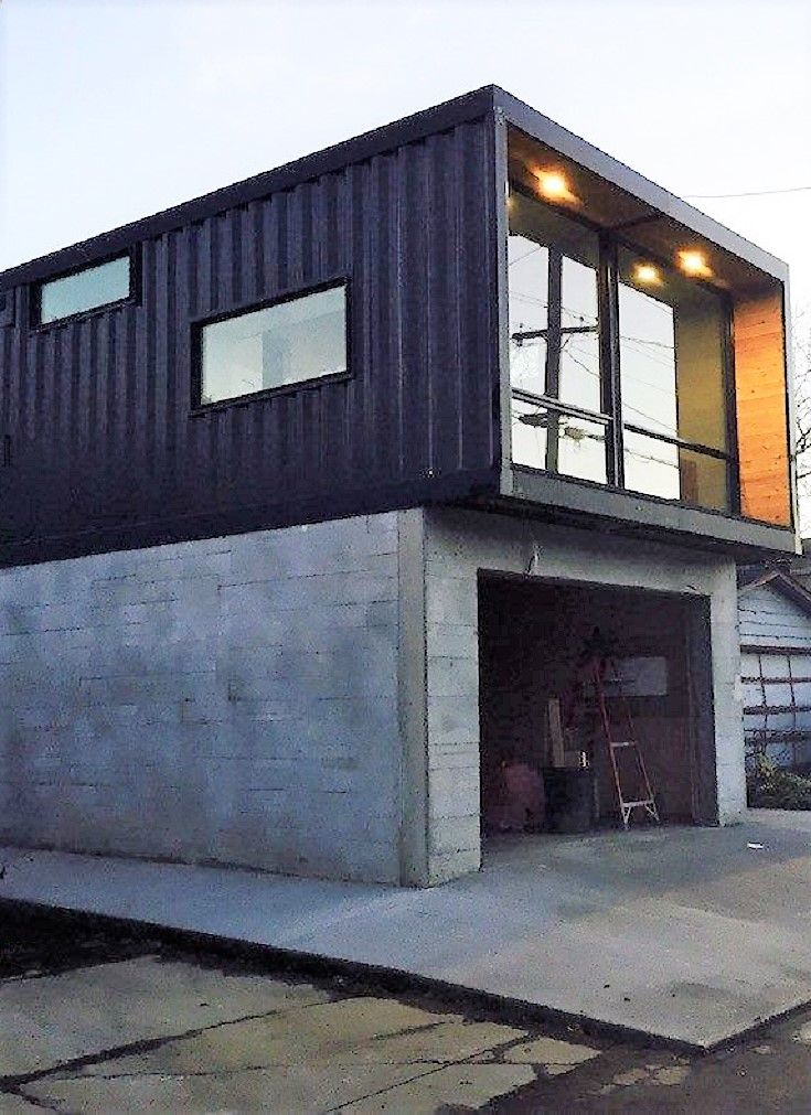 Container House   Honomobo Shipping Container Homes   Who Else Wants Simple  Step By Step Plans To Design And Build A Container Home From Scratch?