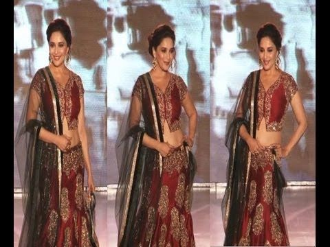 Madhuri Dixit walks the ramp for SAVE and EMPOWER GIRL CHILD campaign.