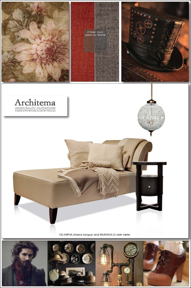 ARCHITEMA  HOSPITALITY FURNITURE - Our chaise longue OLIMPIA  and BUSSOLO side table