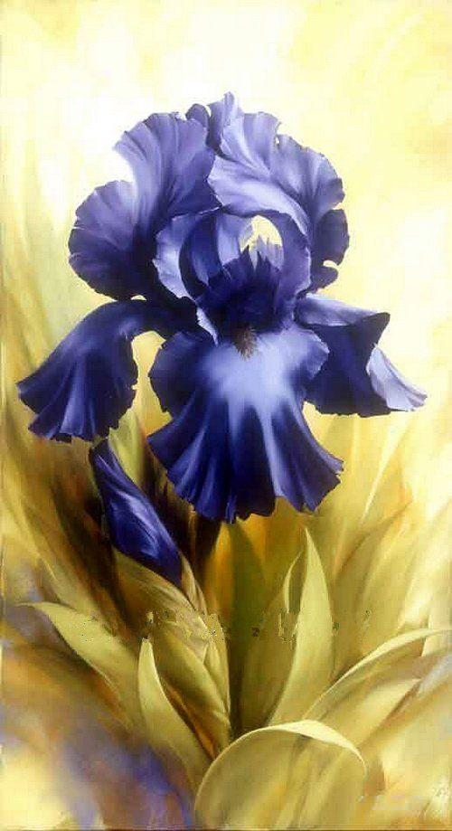 igor levashov art paintings ~ Mom's sister Annie's favorite flower.