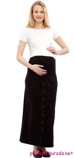 Uzun siyah hamile eteği http://www.paylasimburada.net/en-rahat-hamile-elbise-modelleri/