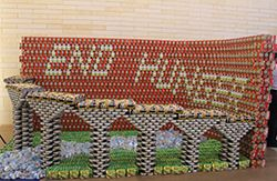 Canstruction - Houston Food Bank