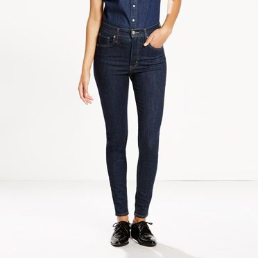 These jeans live up to their name, with an ultra high rise and extra skinny leg…