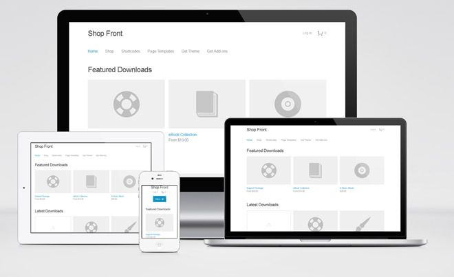 Shop Front : Free, Simple and Responsive WordPress Theme for Ecommerce | Freebiesjedi
