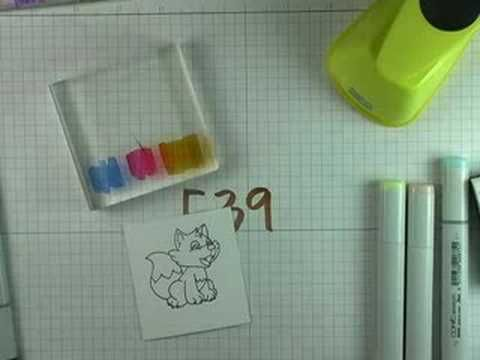 Tutorial Copic Markers