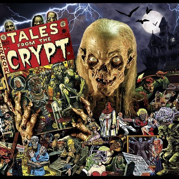 Reliving my childhood by watching one of my favorite tv shows when I was a kid. Yes i used to watch tales from the crypt when I was a kid. A fondly remember the Santa Claus episode. It's crazy how many big directors and actors worked on this show! I do hope for a comeback. #talesfromthecrypt #talesfromthecrypttvshow #cryptkeeper #johnkassir #robertzemeckis #tomholland #richarddonner #horrorfans #horror #scary #horroranthology #gayhorrorfan #gayhorrorfans #horrorchildhood #childhoodmemories…