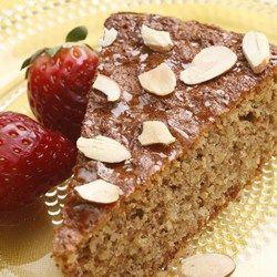 Flourless Honey-Almond Cake - EatingWell.com