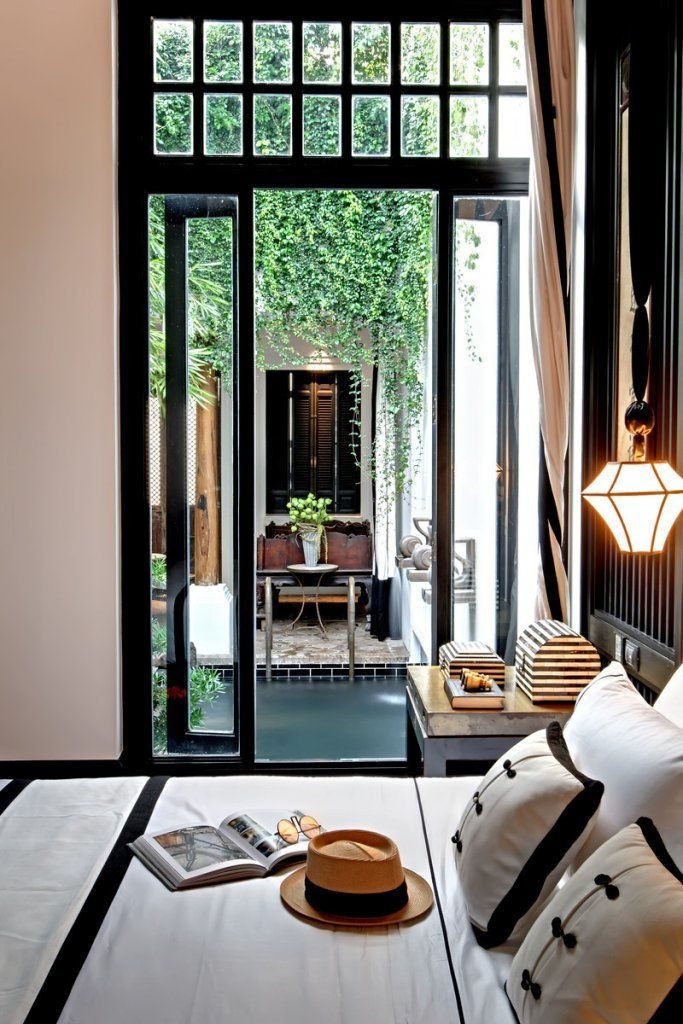 The siam hotel bangkok bedroom interior patio and for Outdoor furniture thailand bangkok