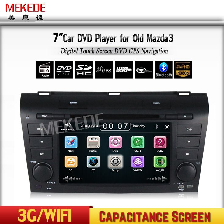 Factory price of OLD MAZDA 3 2004-2009 CAR DVD PLAYER with WINCE 6.0 MTK MT3360 with HD 1080P Video built-in GPS wifi 3g