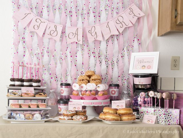 Donuts Baby Shower Party Ideas