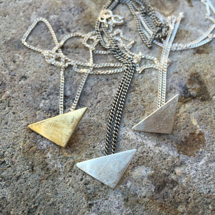 TRIANGLE NECKLACE via DDsthlm. Click on the image to see more!