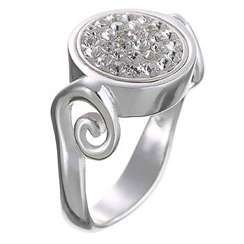 Sterling Silver Swirl Kameleon Ring. One of many found at Dona Lynn's Unique Gifts in Downtown Brenham!