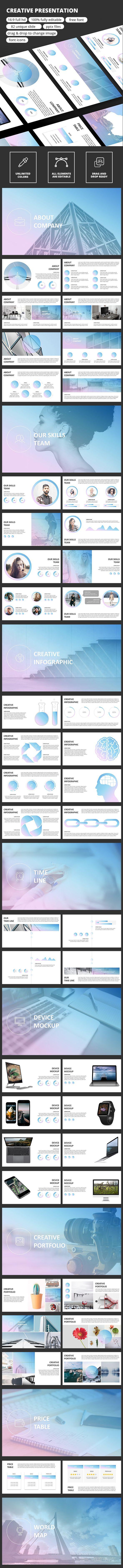 Creative Presentation Template - Business PowerPoint Templates