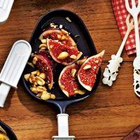 Raclette-Pfännchen Feige-Erdnuss