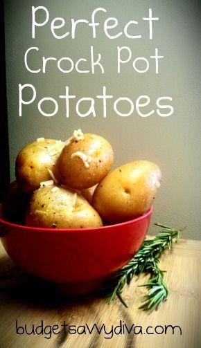 Perfect Crock Pot Potatoes