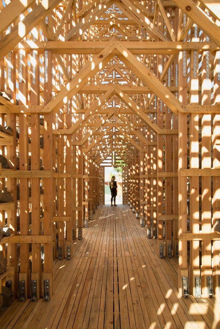 pezo von ellrichshausen – mine pavilion, denver (USA), 2014