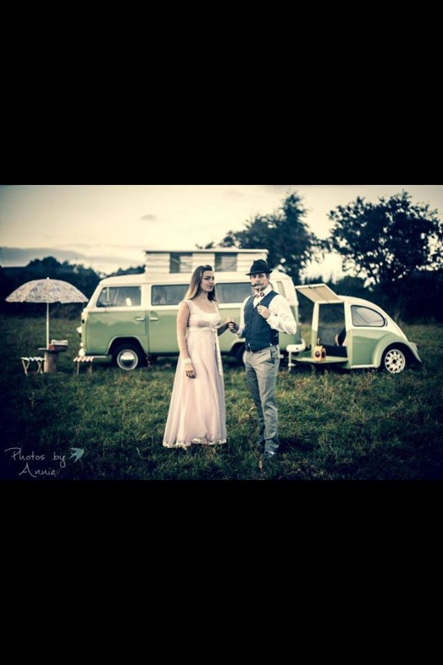 VW camper van for Photo Booth-Photos by Annie