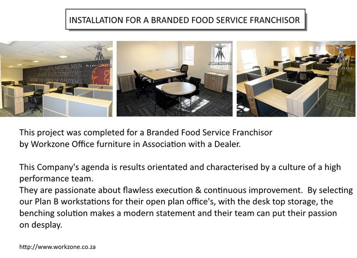 Installation for a Branded Food Service Franchisor in Association with a Dealer.