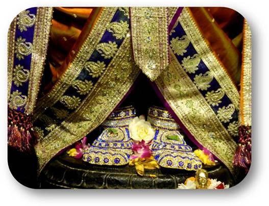 Today's Special Darshan (Sri Krishna Janmashtami) Holy Feet of Lord Balaji @ISKCONNVCC, Pune