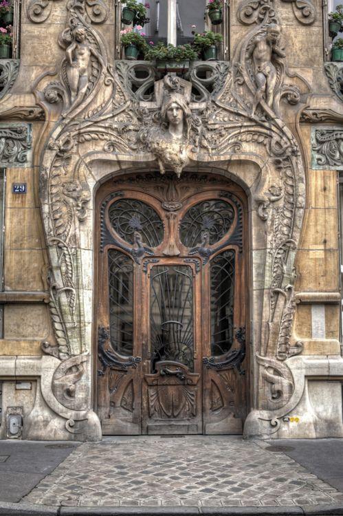 All I can say is oohhh..: Doors, Paris, Art Nouveau, Portal, Artnouveau, Architecture