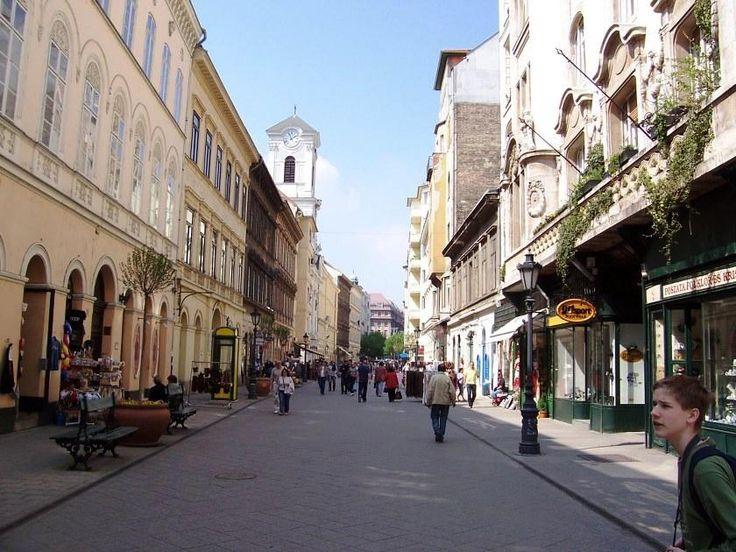Budapest I Váci utca