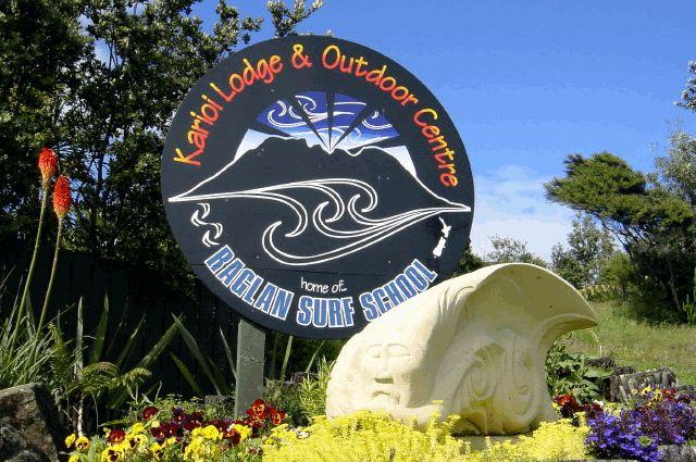 Kariori Lodge, Raglan, New Zealand. (where I learned to surf)