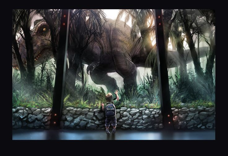 Jurassic World 'nostalgia' fan art by WEVART.deviantart.com on @DeviantArt