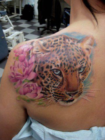 blue eyed jaguar tattoo tattoos tattoo inspiration pinterest flower jaguar and cheetahs. Black Bedroom Furniture Sets. Home Design Ideas