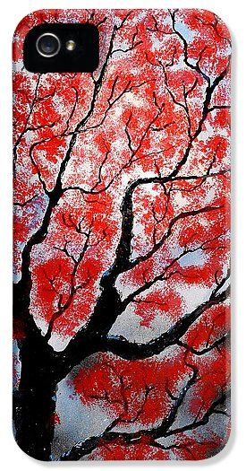 Spring IPhone 5 / 5s Case Printed with Fine Art spray painting image Spring by Nandor Molnar (When you visit the Shop, change the orientation, background color and image size as you wish)