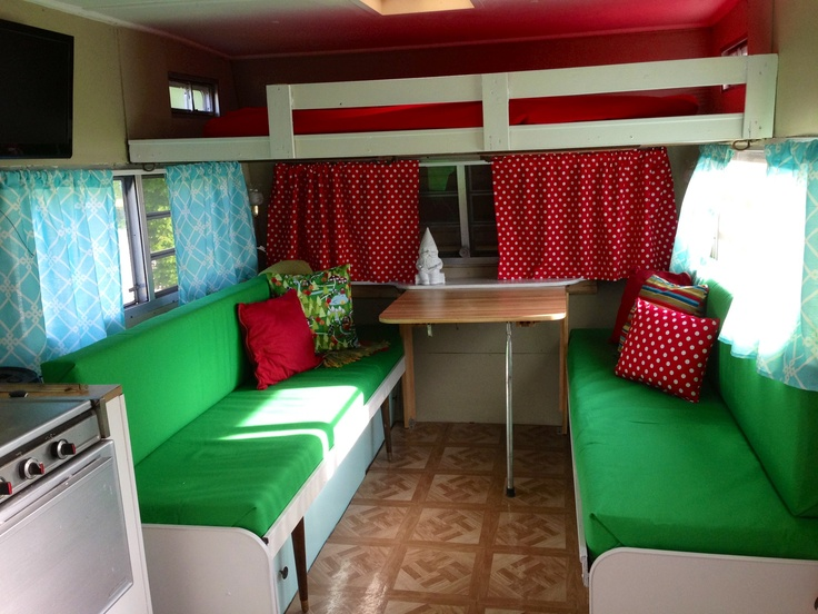 17 best ideas about vintage camper interior on pinterest vintage campers trailers camper. Black Bedroom Furniture Sets. Home Design Ideas