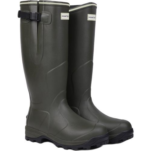 Hunter Balmoral Neoprene Wellingtons Dark Olive This Balmoral Neopreane boot has been created for those who require excellence in all weathers and