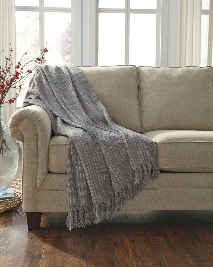 1StopBedrooms.com | Grey throw, Living room throws, Ashley ...