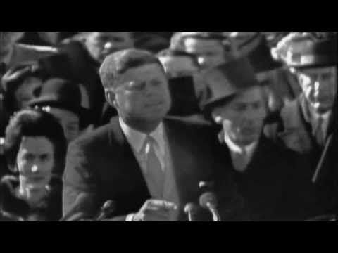 """""""Ask not..."""" After taking the presidential oath of office on January 20, 1961, JFK delivered his inaugural address, which has been widely considered among the best presidential inauguration speeches in American history."""