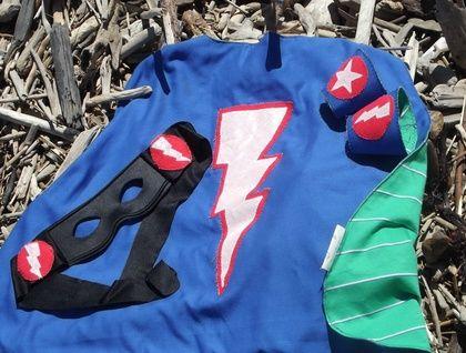 Custom Prince or Super Hero Cape Set | Felt.co.nz $45NZ